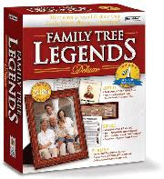 Family Tree Legends Deluxe 5 Individual Software
